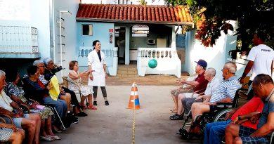 atividades para idosos vôlei adaptado na angels life