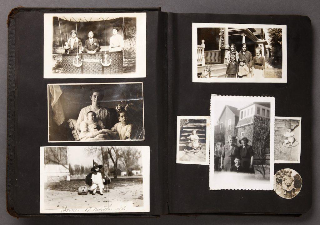 foto de album de fotos antigas de familia