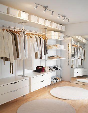 Guarda roupas aberto - faça você mesmo: